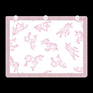 Εικόνα της Minene Υφασμάτινες Ηλιοπροστασίες Αυτοκινήτου με UV προστασία, Pink Horse