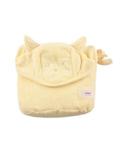 Εικόνα της Minene Πετσέτα με Κουκούλα 2 σε 1 XL, Yellow Cat
