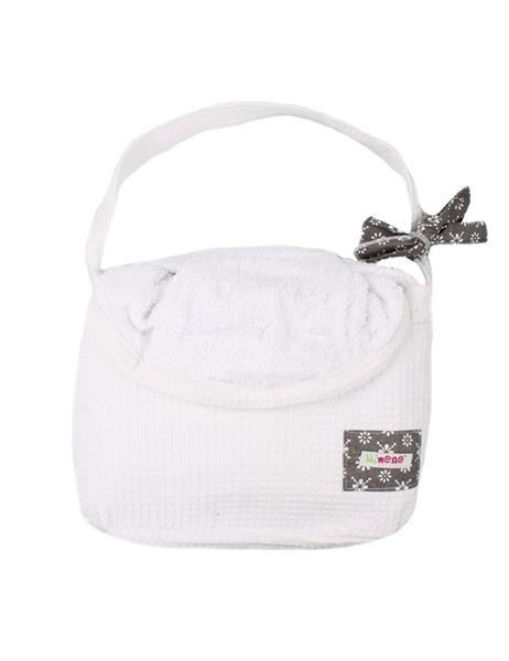 Picture of Minene Πετσέτα με Κουκούλα 2 σε 1 XL, White Dog