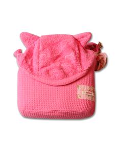 Picture of Minene Πετσέτα με Κουκούλα 2 σε 1 XL, Pink Cat