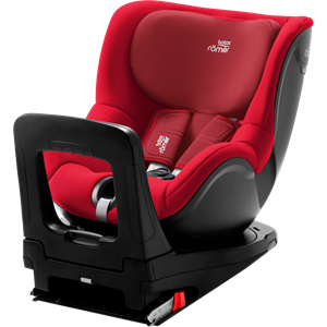 Picture of Britax Romer Παιδικό Κάθισμα Αυτοκινήτου Dualfix I-Size, Fire Red 40 - 105 cm + Δώρο το Vehicle seat protector αξίας 48€