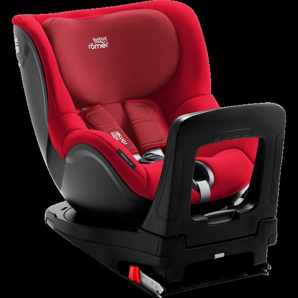 Picture of Britax Romer Παιδικό Κάθισμα Αυτοκινήτου Dualfix I-Size, Fire Red 40 - 105 cm