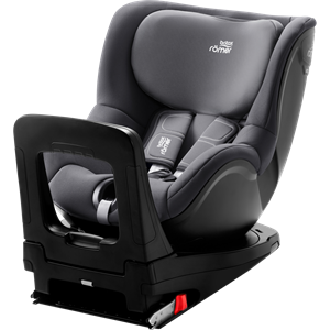 Picture of Britax Romer Παιδικό Κάθισμα Αυτοκινήτου Dualfix I-Size, Storm Grey 40 - 105 cm + Δώρο το Vehicle seat protector αξίας 48€