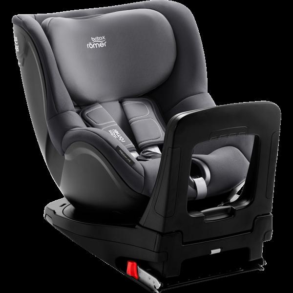 Picture of Britax Romer Παιδικό Κάθισμα Αυτοκινήτου Dualfix I-Size, Storm Grey 40 - 105 cm