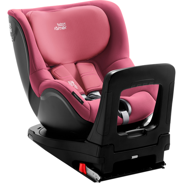 Picture of Britax Romer Παιδικό Κάθισμα Αυτοκινήτου Dualfix I-Size, Wine Rose 40 - 105 cm + Δώρο το Vehicle seat protector αξίας 48€