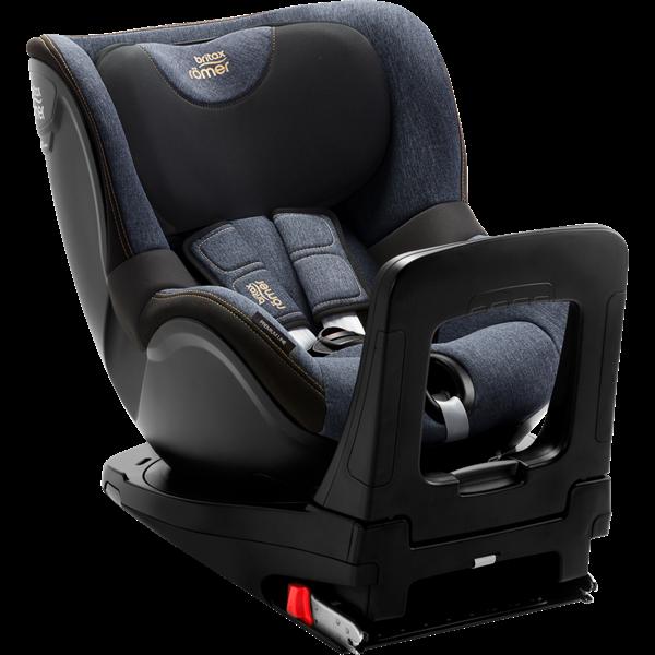 Picture of Britax Romer Παιδικό Κάθισμα Αυτοκινήτου Dualfix I-Size, Blue Marble 40 - 105 cm + Δώρο το Vehicle seat protector αξίας 48€