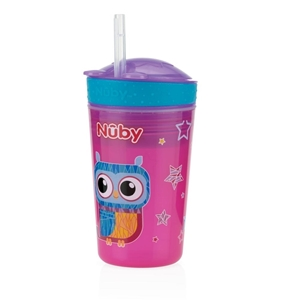 Εικόνα της Nuby Drink & Snack Cup 270ml Pink