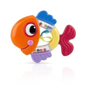 Εικόνα της Nuby Κουδουνίστρα - Μασητικό Fish