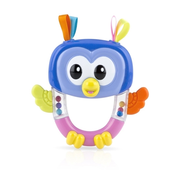 Picture of Nuby Κουδουνίστρα - Μασητικό Owl