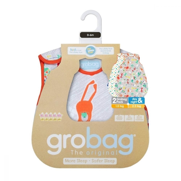 Picture of Grobag Πακέτο 2 Υπνόσακοι 1.0 tog 18-36 μηνών Childs Play