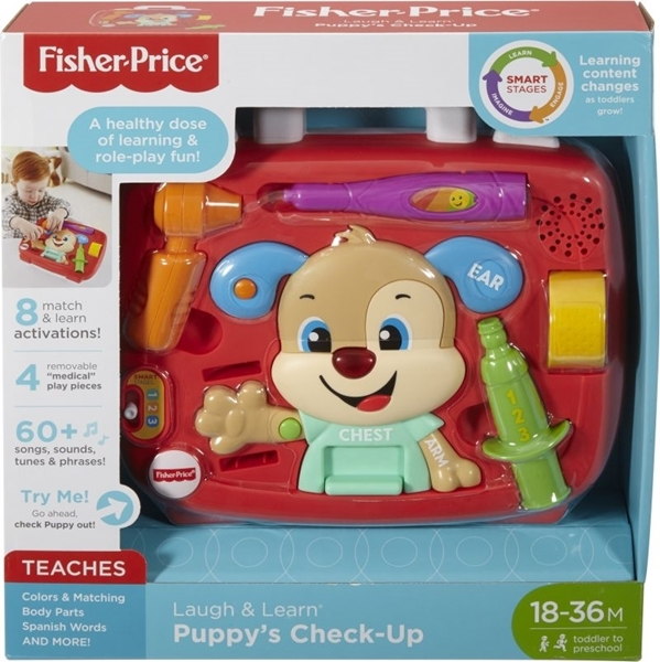 Picture of Fisher Price Laugh & Learn Εκπαιδευτικό Βαλιτσάκι Γιατρού #FTN29