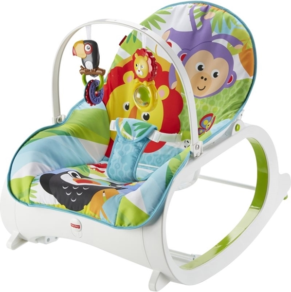 Picture of Fisher Price Infant To Toddler - Ρηλάξ/Κούνια Λιονταράκι #FML56
