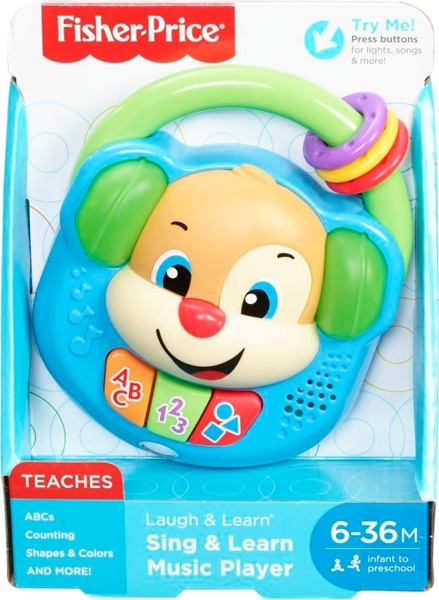 Picture of Fisher Price Laugh & Learn Εκπαιδευτικό Ραδιοφωνάκι #FPV17