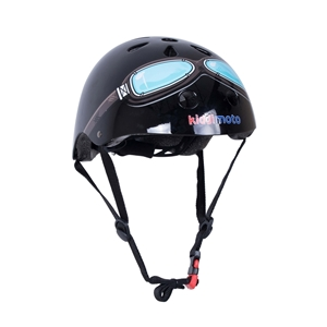 Picture of KiddiMoto Helmet Black Goggle Small