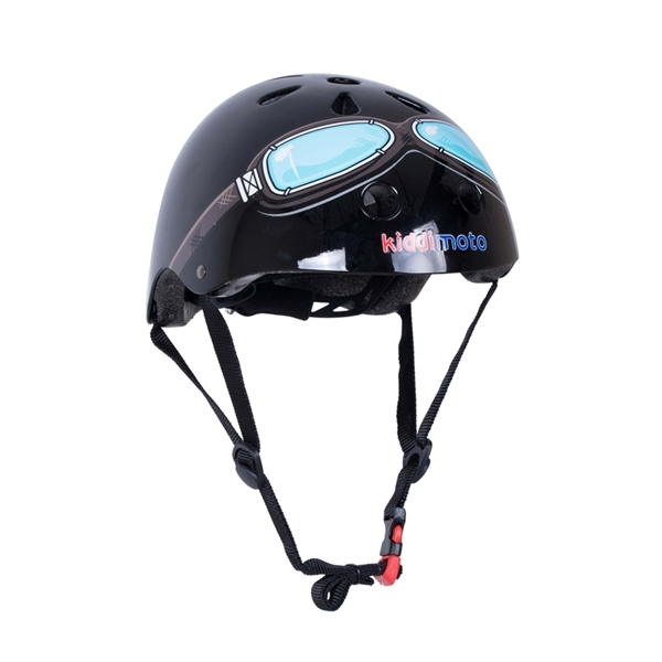 Picture of KiddiMoto Helmet Black Goggle Small