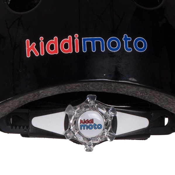 Picture of KiddiMoto Κράνος Red Dotty Medium