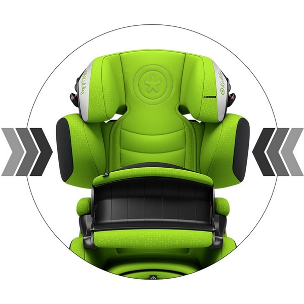 Picture of Kiddy Κάθισμα Αυτοκινήτου Guardianfix 3, 9-36kg, Cactus Green