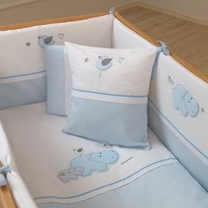 Εικόνα της FunnaBaby Σετ προίκας μωρού Hippo Blue