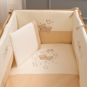 Picture of FunnaBaby Σετ προίκας μωρού Sweet Dreams Beige