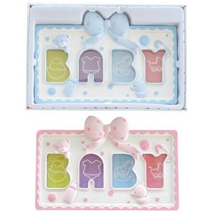 Εικόνα της Soft Touch Κορνίζα για Φωτογραφίες Baby Photo Frame