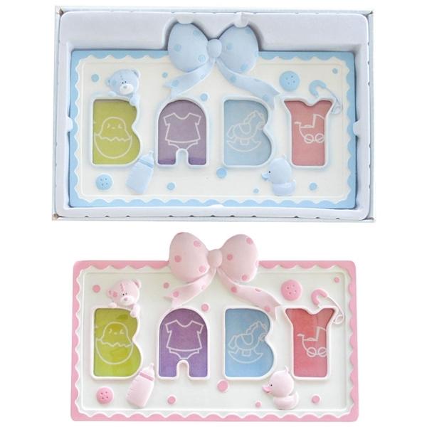Picture of Soft Touch Κορνίζα για Φωτογραφίες Baby Photo Frame