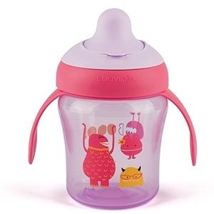 Εικόνα της Suavinex εκπαιδευτικό κύπελλο 200 ml Learning Cup Βοο! Purple 6M+