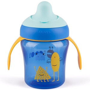 Picture of Suavinex εκπαιδευτικό κύπελλο 200 ml Learning Cup Βοο! Blue 6M+