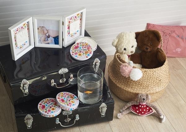 Picture of Baby Art Αποτύπωμα Magic Box Precious Keepsake Flowers