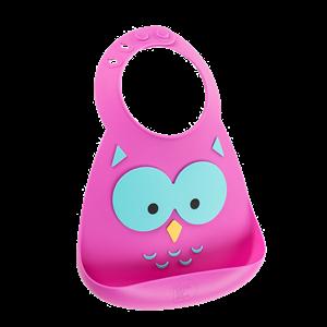 Εικόνα της Make my Day Σαλιάρα Σιλικόνης Owl