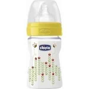 Εικόνα της Chicco Μπιμπερό Πλαστικό, Well Βeing 150ml. Θηλή Καουτσούκ