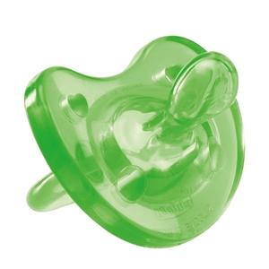 Εικόνα της Chicco Πιπίλα Physio Soft, Όλο σιλικόνη Πράσινη, 12m+ 1τμχ