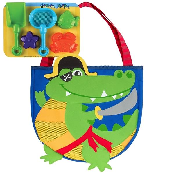 Picture of Stephen Joseph Τσαντούλα Παραλίας με Παιχνίδια, Alligator Pirate