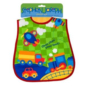 Εικόνα της Παιδική Σαλιάρα Stephen Joseph - Transportation