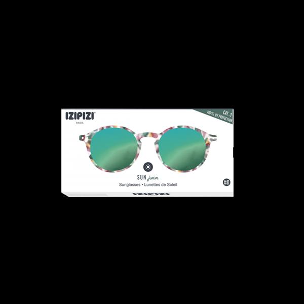Picture of IZIPIZI Γυαλιά Ηλίου Sun Junior, 3 - 10 Ετών #D Green Tortoise