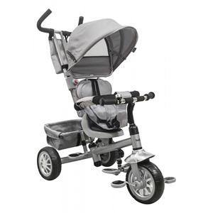 Εικόνα της Just Baby Τρίκυκλο Ποδήλατο Spin Grey με Περιστρεφόμενο Κάθισμα