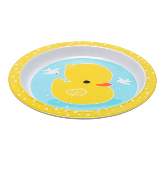 Picture of A Little Lovely Company Σετ Φαγητού, Yellow Duck