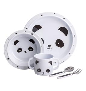 Εικόνα της A Little Lovely Company Σετ Φαγητού, Panda