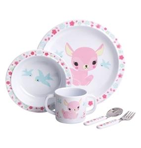 Εικόνα της A Little Lovely Company Σετ Φαγητού, Lovely Deer