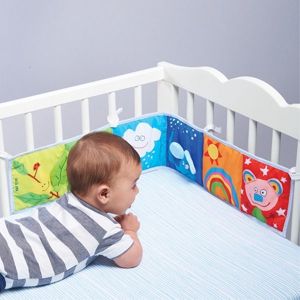 Picture of Taf Toys Υφασμάτινο Βιβλίο Δραστηριοτητήτων Clip On Pram Book 0M+