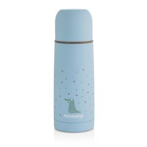 Picture of Miniland Ανοξείδωτος θερμός Υγρών Silky Thermos Blue 350ml.