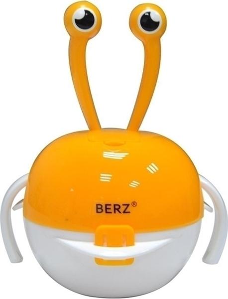 Picture of Berz Βρεφικό Σετ Μπολ Φαγητού 5 σε 1, Orange Crab