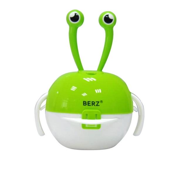 Picture of Berz Βρεφικό Σετ Μπολ Φαγητού 5 σε 1, Green Crab