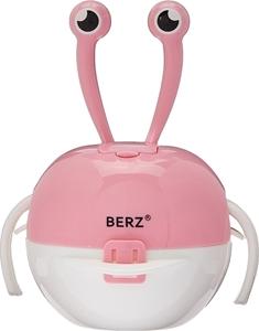Εικόνα της Berz Βρεφικό Σετ Μπολ Φαγητού 5 σε 1, Pink Crab