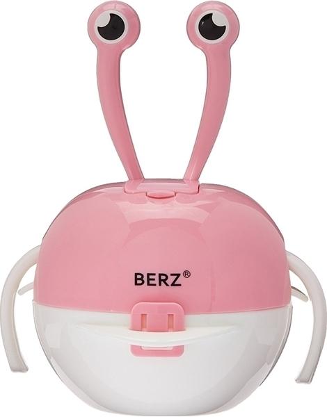 Picture of Berz Βρεφικό Σετ Μπολ Φαγητού 5 σε 1, Pink Crab