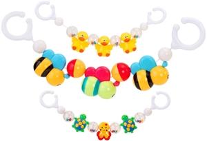 Εικόνα της Vitamina G Αλυσίδα με Παιχνίδια για Καρότσι 3 Σχέδια