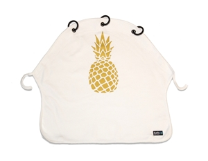 Picture of Kurtis Σκίαστρο Καροτσιού Pineapple Gold White