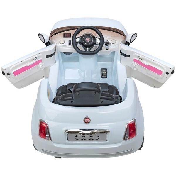 Picture of Globo Ηλεκτροκίνητο Fiat 500 Cabrio White 12V με Τηλεχειριστήριο