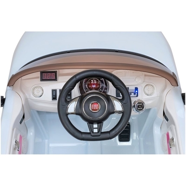 Picture of Globo Ηλεκτροκίνητο Fiat 500 Cabrio Red 12V με Τηλεχειριστήριο