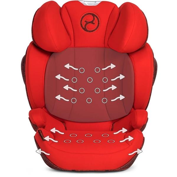 Picture of Cybex Παιδικό κάθισμα αυτοκινήτου Solution Z-fix Autumn Gold 15-36kg.