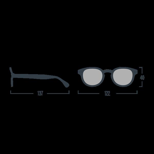 Picture of IZIPIZI Γυαλιά Ηλίου Sun Junior, 5 - 10 Ετών #C White Clay
